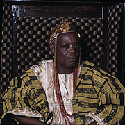 Oba Oladokun Oyewusi, the time of Ede, Osun State, Nigeria